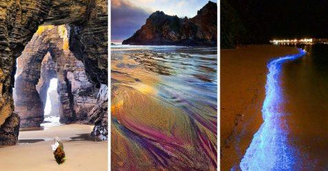 15 praias únicas para as quais vale a pena viajar